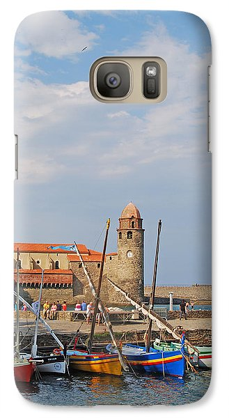 Galaxy Case featuring the photograph Colorful Harbour by Ankya Klay