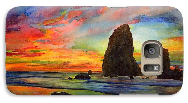 Colorful Solitude Galaxy Case by Hailey E Herrera