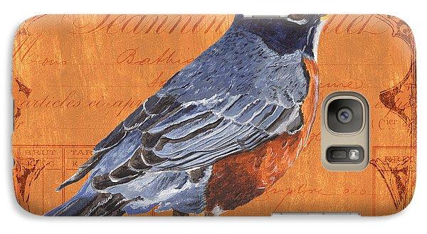 Robin Galaxy S7 Case - Colorful Songbirds 2 by Debbie DeWitt