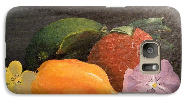 Galaxy Case featuring the painting Colorful Still by Lori Ippolito