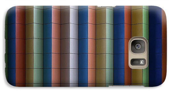 Colours Galaxy S7 Case - Colorful Stripes by Rolf Endermann