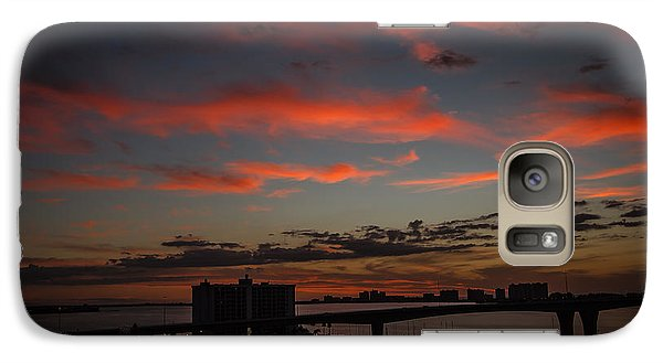Galaxy Case featuring the photograph Colorful Sunset by Jane Luxton
