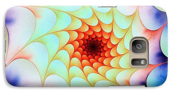 Galaxy Case featuring the digital art Colorful Web by Anastasiya Malakhova