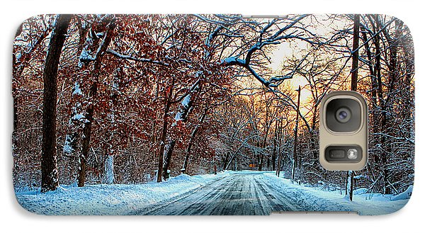 Galaxy Case featuring the photograph Colorful Winter by Jerome Lynch