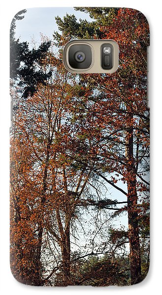 Galaxy Case featuring the photograph Colors Of Autumn by Tikvah's Hope