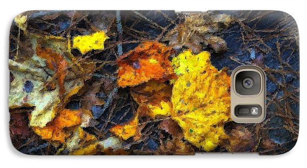 Galaxy Case featuring the photograph Colors Of Fall by Ludwig Keck
