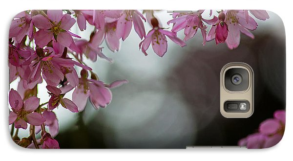 Galaxy Case featuring the photograph Colors Of Spring - Cherry Blossoms by Jordan Blackstone