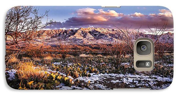 Galaxy S7 Case featuring the photograph Colors Of Winter by Mark Myhaver