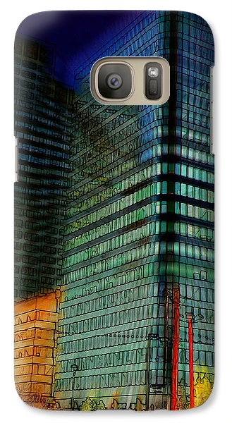Galaxy Case featuring the digital art Colors by Stuart Turnbull
