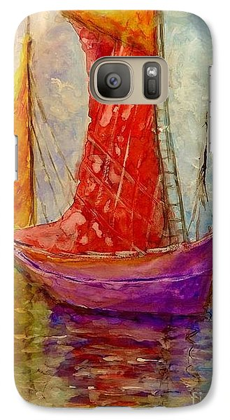 Galaxy Case featuring the painting Colors Symphony.. by Cristina Mihailescu