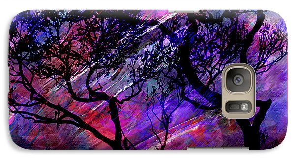 Galaxy Case featuring the digital art Colorscape by Barbara MacPhail