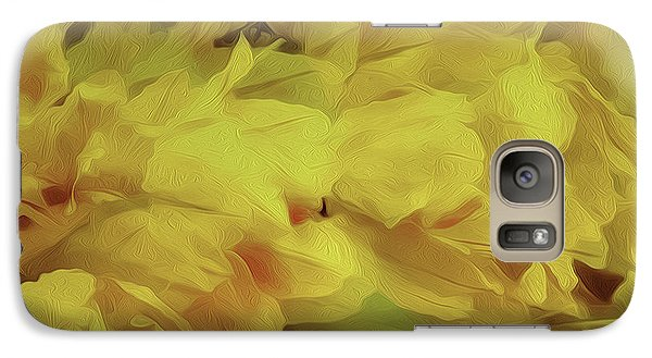 Galaxy Case featuring the photograph Colorstraction by Nancy Marie Ricketts