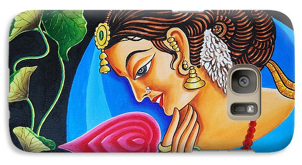 Galaxy Case featuring the painting Colour And Creativity by Ragunath Venkatraman