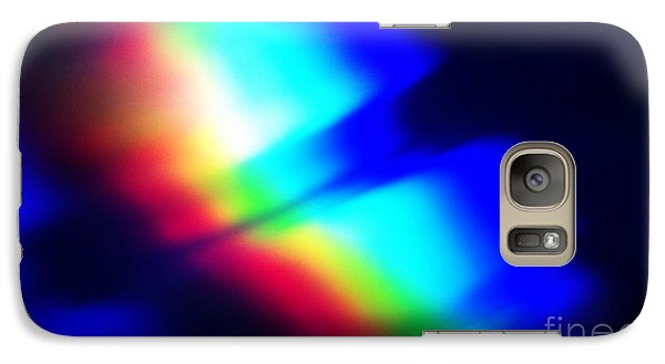 Galaxy Case featuring the photograph Coloured Light by Martin Howard
