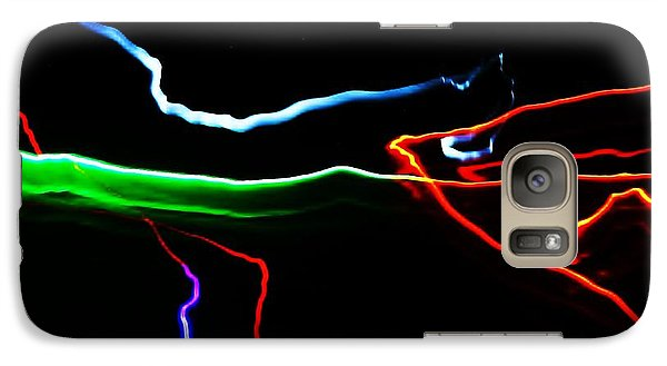 Galaxy Case featuring the digital art Colours At Midnight... by Al Fritz