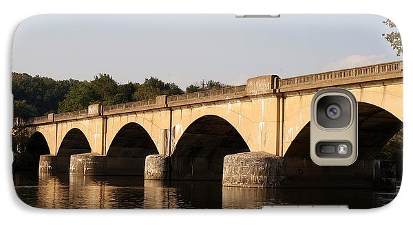 Galaxy Case featuring the photograph Columbia Bridge by Christopher Woods