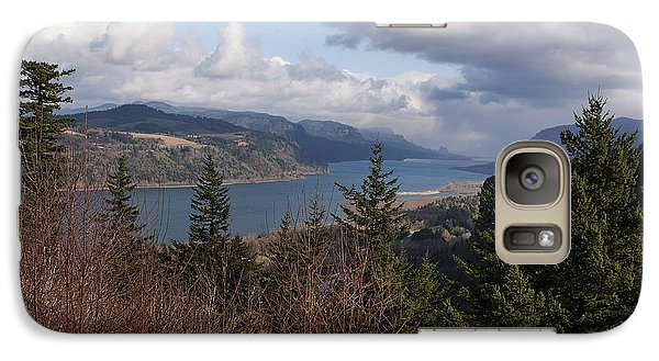 Galaxy Case featuring the photograph Columbia Gorge by Belinda Greb
