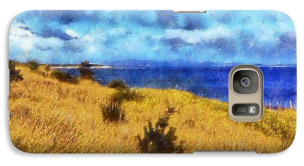 Galaxy Case featuring the digital art Columbia River by Kaylee Mason