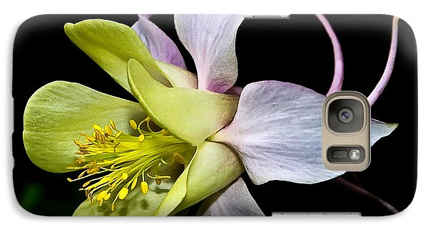 Galaxy Case featuring the photograph Columbine by Jane McIlroy