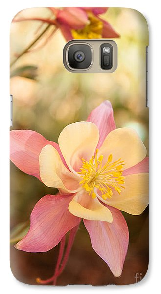Galaxy Case featuring the photograph Columbine by Roselynne Broussard