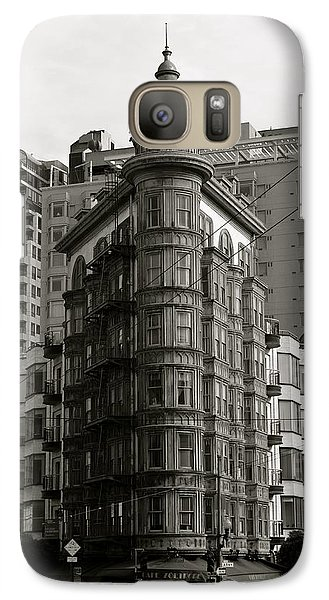 Galaxy Case featuring the photograph Columbus Tower San Francisco by Alex King