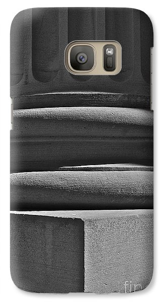 Galaxy Case featuring the photograph Column 1 by Linda Bianic