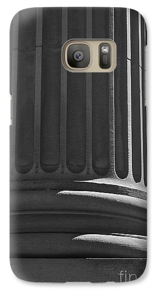 Galaxy Case featuring the photograph Column 2 by Linda Bianic