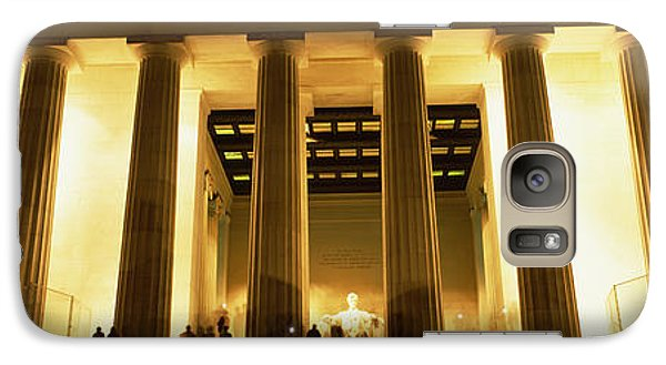 Columns Surrounding A Memorial, Lincoln Galaxy Case by Panoramic Images
