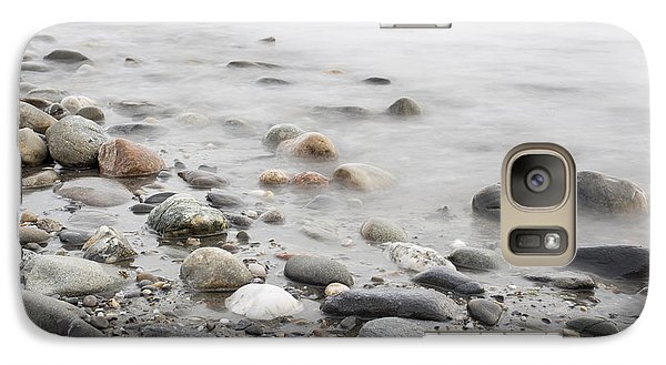 Galaxy Case featuring the photograph Combing The Beach by Andrew Pacheco