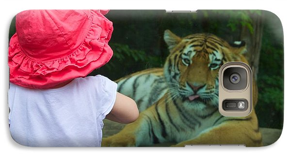 Galaxy Case featuring the photograph Come A Little Closer by Dave Files
