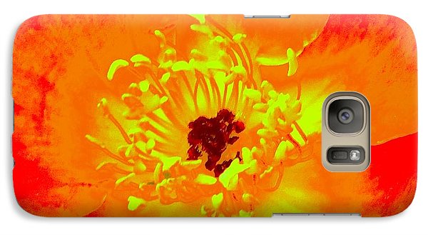 Galaxy Case featuring the photograph Come Closer Rose by Ann Johndro-Collins