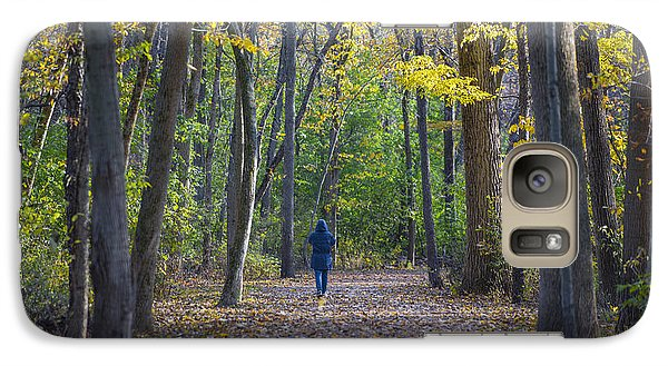 Galaxy Case featuring the photograph Come For A Walk by Sebastian Musial