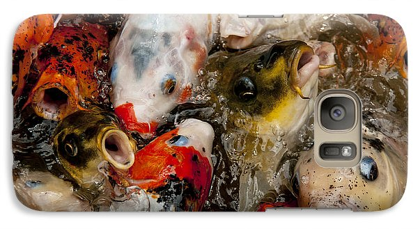 Galaxy Case featuring the photograph Come On In The Water Is Great by Wilma  Birdwell