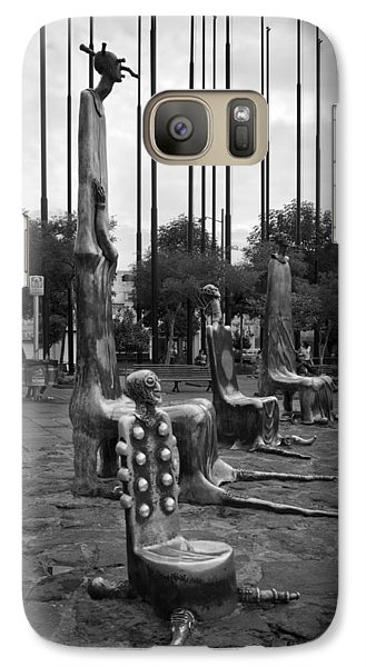 Galaxy Case featuring the photograph Come Sit With Us by Lynn Palmer