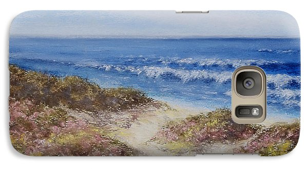 Galaxy Case featuring the painting Come With Me by Stanza Widen