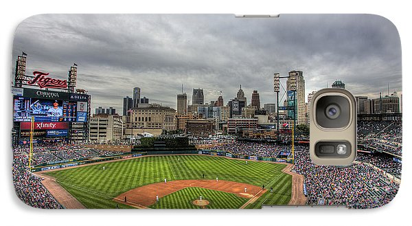 Galaxy Case featuring the photograph Comerica Park Home Of The Tigers by Shawn Everhart