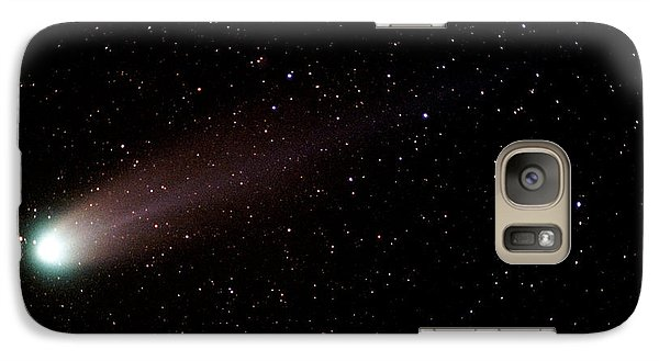 Galaxy Case featuring the photograph Comet Hyakutake by Christopher McKenzie