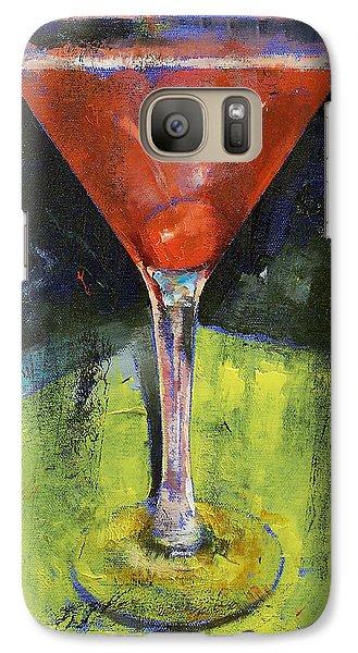 Comfortable Cherry Martini Galaxy S7 Case