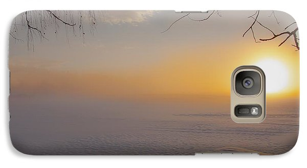Galaxy Case featuring the photograph Comfortable Winter View by Rose-Maries Pictures