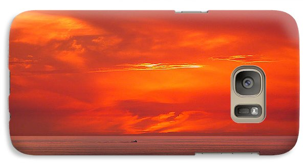 Galaxy Case featuring the photograph Coming Home by Mariarosa Rockefeller