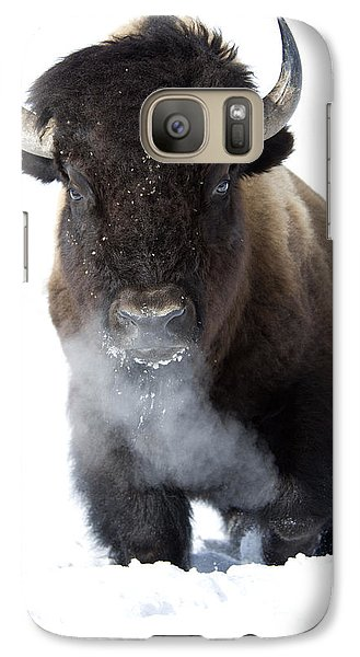 Buffalo Galaxy S7 Case - Coming Through by Deby Dixon