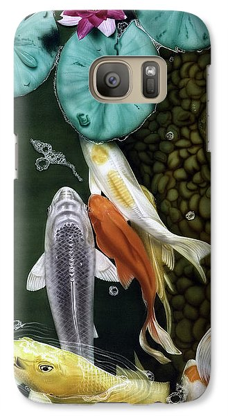 Galaxy Case featuring the painting Coming Up Short by Dan Menta