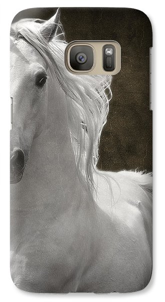 Galaxy Case featuring the photograph Coming Your Way by Wes and Dotty Weber
