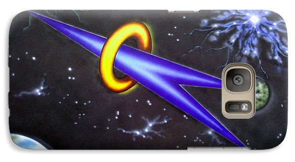 Galaxy Case featuring the painting Commitment by Kenneth Clarke