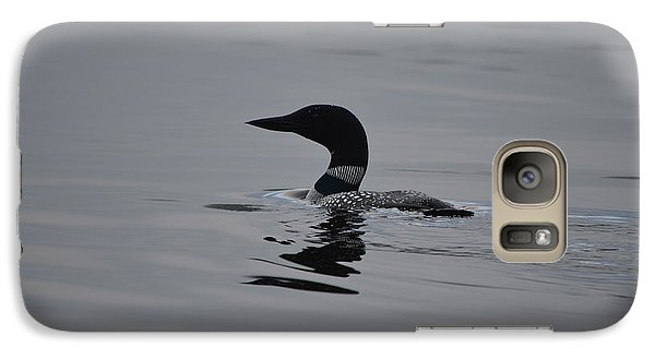 Galaxy Case featuring the photograph Common Loon by James Petersen