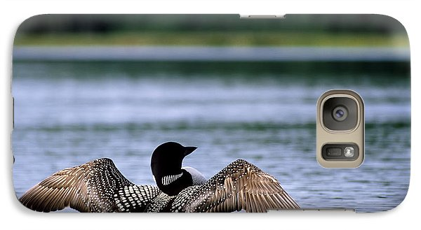 Common Loon Galaxy S7 Case by Mark Newman