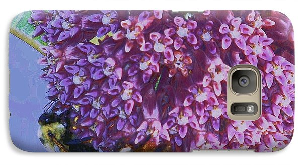 Galaxy Case featuring the photograph Common Milkweed by Shirley Moravec