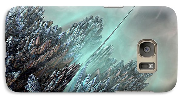 Galaxy Case featuring the digital art Communication Tower by Melissa Messick