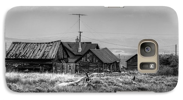 Galaxy Case featuring the photograph Como In Black And White by Lanita Williams