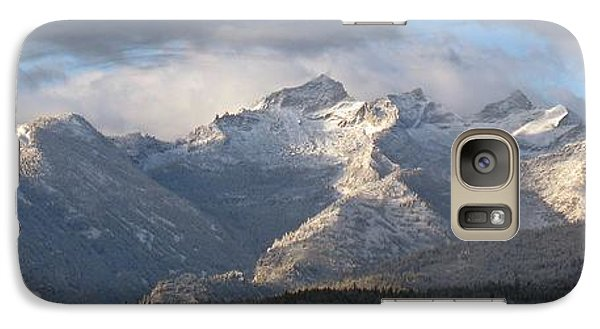 Galaxy Case featuring the photograph Como Peaks Montana by Joseph J Stevens